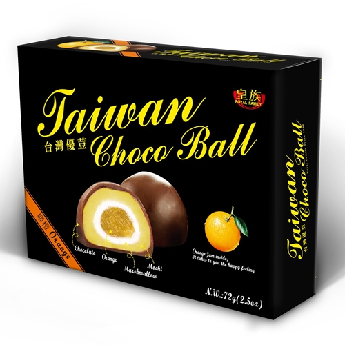 Taiwan Choco Ball (Orange)